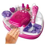 Kit manichiura pentru fetite Girlz Studio, accesorii incluse, 6 ani+