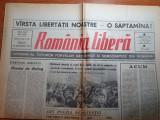Romania libera 30 decembrie 1989 - revolutia romana,o saptamana de libertate