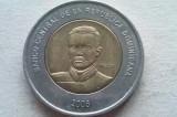 MONEDA 10 PESOS 2005-REPUBLICA DOMINICANA