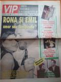 Ziarul vip 12 - 18 ianuarie 1999-art f.piersic,a.oprea-talisman,a.sigartau