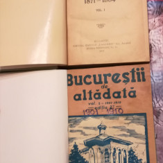 Constantin Bacalbasa - Bucurestii de altadata, interbelic, 4 vol. (1871 - 1914)