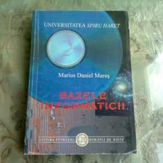 BAZELE INFORMATICII - MARIUS DANIEL MARES