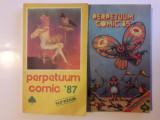 Lot 2 Almanahuri Perpetuum Comic  1985 + 1987 / C3P