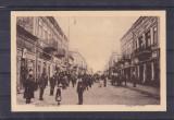 MUNTENIA  BUZAU  RAMNICUL  SARAT  STRADA  MAGAZIN CIRCULATA 1917 K.U.K. FELDPOST