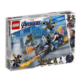 LEGO Marvel Super Heroes Avengers Captain America: Atacul Outriderilor (76123)