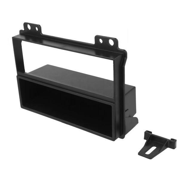 Cadru radio , Rama adaptoare radio pentru Ford / Fiesta / Fusion , Negru