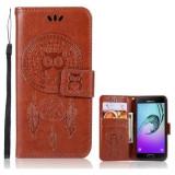 Samsung Galaxy J5 (2016) - Husa Book Cover Wallet Brown