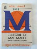 S. Stossel - Culegere de matematici pentru admiterea in liceu