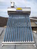 Panou solar apa calda nepresurizat – integral INOX – 100L (10 tuburi 58/1800)