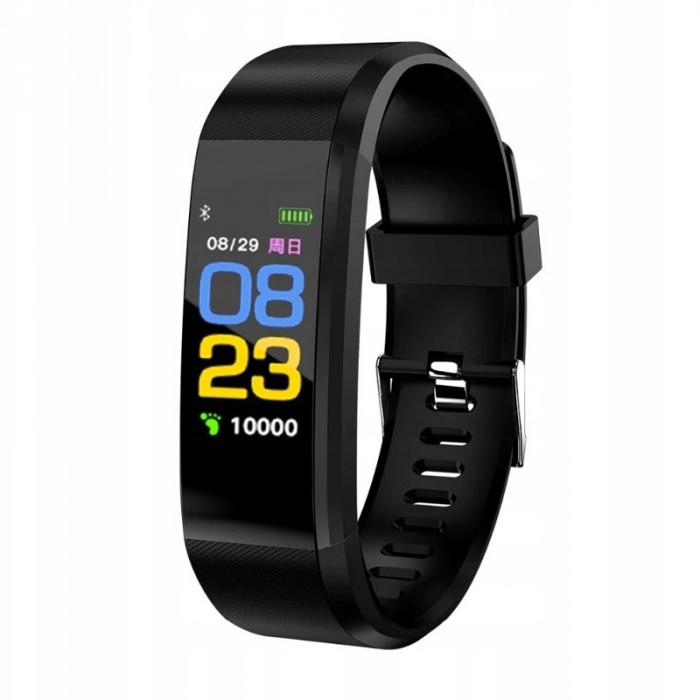 Bratara inteligenta M2S, ecran tactil OLED, ceas, vibratii, puls