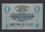A5319 Italy Italia 5 centesimi 1918 UNC