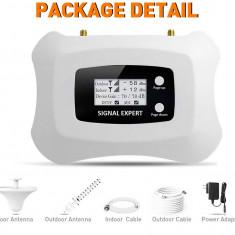 Kit Amplificator GSM  3G - 4G DIGI - VODAFONE Antena Yagi ext. si antena int.