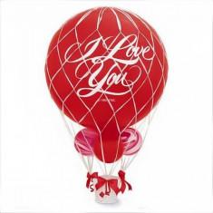 Plasa alba pentru baloane mari cu umflate heliu de 90