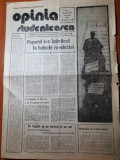 ziarul opinia studenteasca 23 decembrie 1989-anul 1,nr. 1- revolutia romana