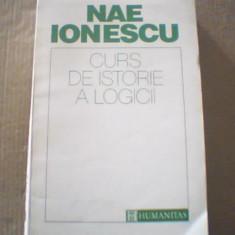 Nae Ionescu - CURS DE ISTORIE A LOGICII { Humanitas, 1993 }