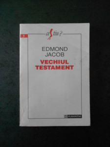 EDMOND JACOB - VECHIUL TESTAMENT