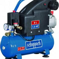 Compresor HC08 Scheppach SCH5906119901 1100 W 8 L 8 bari