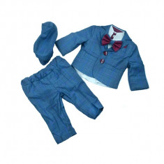 Costum elegant pentru baieti Colibri 2038-AL, Albastru
