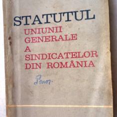 Statutul   UGSR