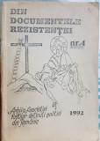 DIN DOCUMENTELE REZISTENTEI NR 4 1992 DETINUTI POLITICI REZISTENTA ANTICOMUNISTA
