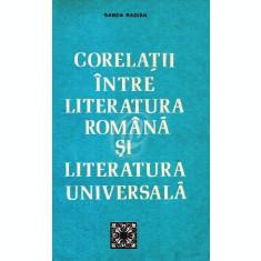 Corelatii intre literatura romana si literatura universala