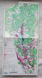 Cimpina - Valea Doftanei.Harta rara, anii '70-'80.