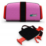 Inaltator scaun auto Mifold Grab and Go Booster, Roz