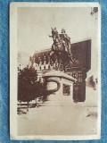 336 - Iasi - Statuia lui Stefan cel Mare / RPR 1959 timbre crucea rosie 10 bani, Necirculata, Fotografie