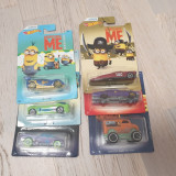Set 6 masinute hot wheels Despicable Me