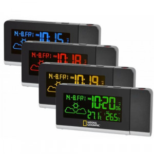 Statie Meteorologica Wireless cu Display 256 Culori si Proiector