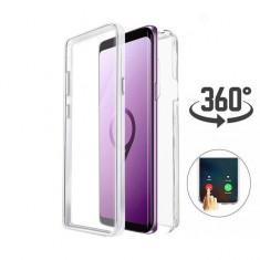 Husa Crystal protectie 360° fata + spate pt Samsung Galaxy S9 / S9+ / S9 plus
