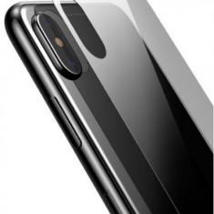 Folie Sticla Temperata Baseus SGAPIPH65-ABM02 pentru spate Apple iPhone XS Max (Transparent)
