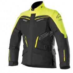 Geaca moto textil Alpinestars Patron Gore-Tex negru/galben-fluo marime L Cod Produs: MX_NEW 3606518551LAU