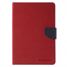 Husa Samsung Galaxy Tab S2 8.0 inch T710 T715 T719 - Tip Carte Magnetic Rosu