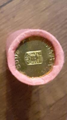 Moneda 1 ban 2006 - UNC din fisic foto