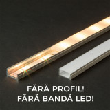 Ecran opal pt. profil aluminiu LED - 1000 mm