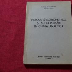 V.Gh.Dumitrescuș V.S.David - Metode spectometrice și autom. în chimia analitică