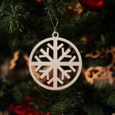 Glob Ornament Brad - Fulg de Zapada