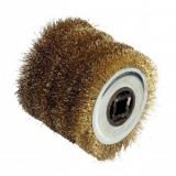 Perie de sarma din otel pentru masina de slefuit FarTools REX 120, 0.5 mm