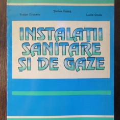 INSTALATII SANITARE SI DE GAZE-TRAIAN CRUCERU,STEFAN VINTILA