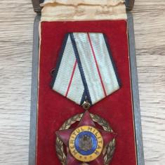 RPR Ordinul Meritul Militar Clasa a IIIa