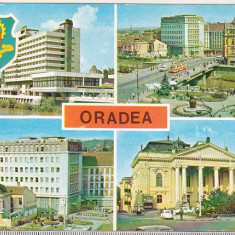 bnk cp Oradea - Vedere - necirculata - marca fixa