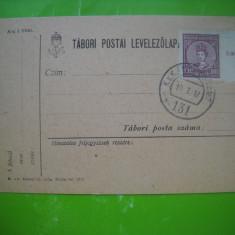 HOPCT 179 Z - 1917   CARTE POSTALA PRIZONIERI DE RAZBOI