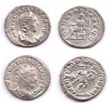 Lot 2 Antoniniani Argint Otacilia Severa Trebonianus Gallus