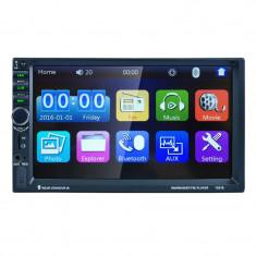 Mp5 Player auto 7021B, display touchscreen 7 inch, bluetooth, handsfree, slot USB, microSD, radio FM