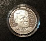 10 lei 2020, Tudor Arghezi, România, argint 999, proof