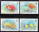 Tuvalu 1988 Marine life MNH DC.114, Nestampilat