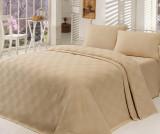 Cumpara ieftin Cuvertura Pique Kare Beige 200x234 cm