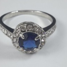 Inel Crystal Blue