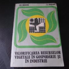 Valorificarea resurselor vegetale in gospodarie si in industrie – Gh. Mohan, A. Avram